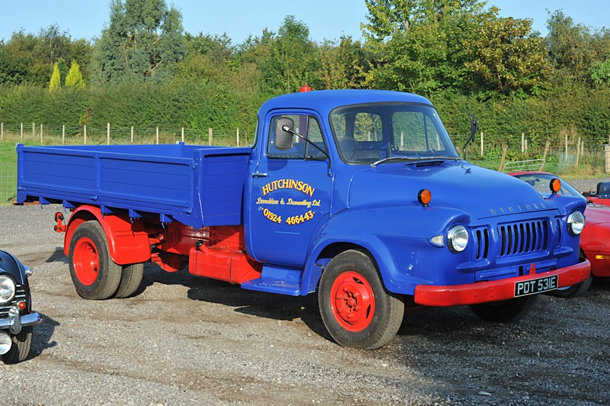 Photo of a Bedford truck