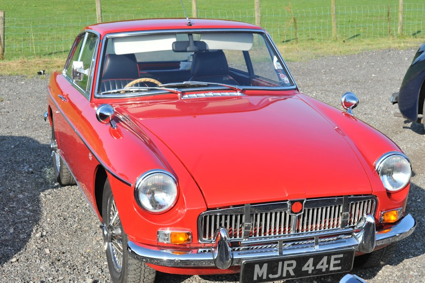 Photo of a MGB GT