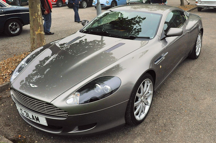 Photo of an Aston Martin DB9