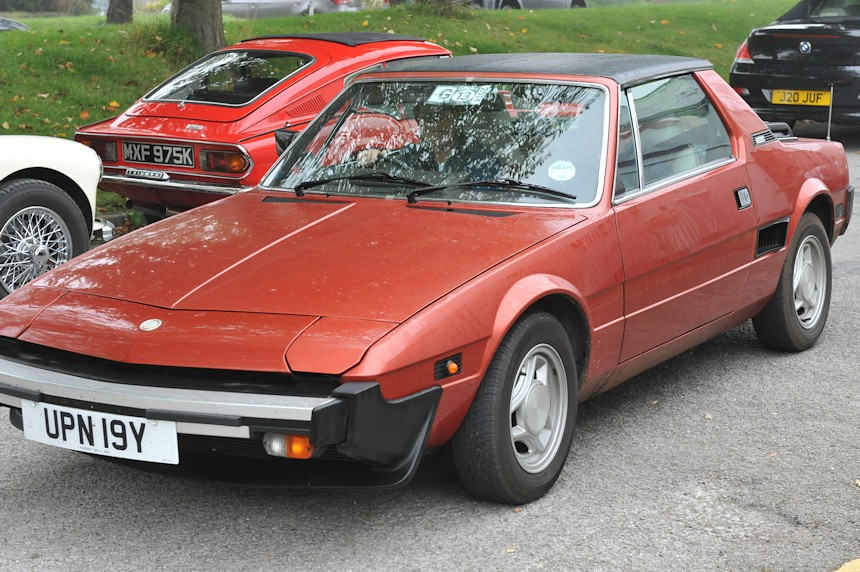 Photo of a Fiat X19
