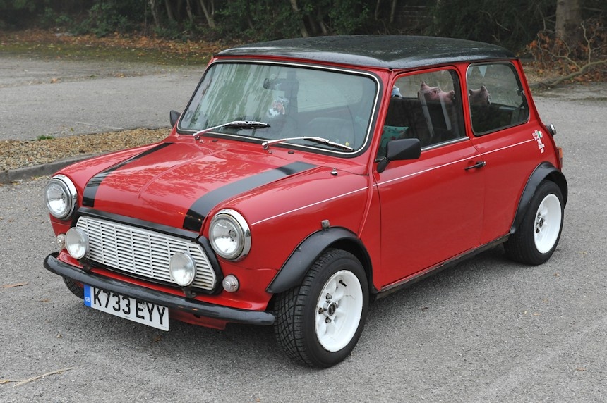 Photo of a red Mini