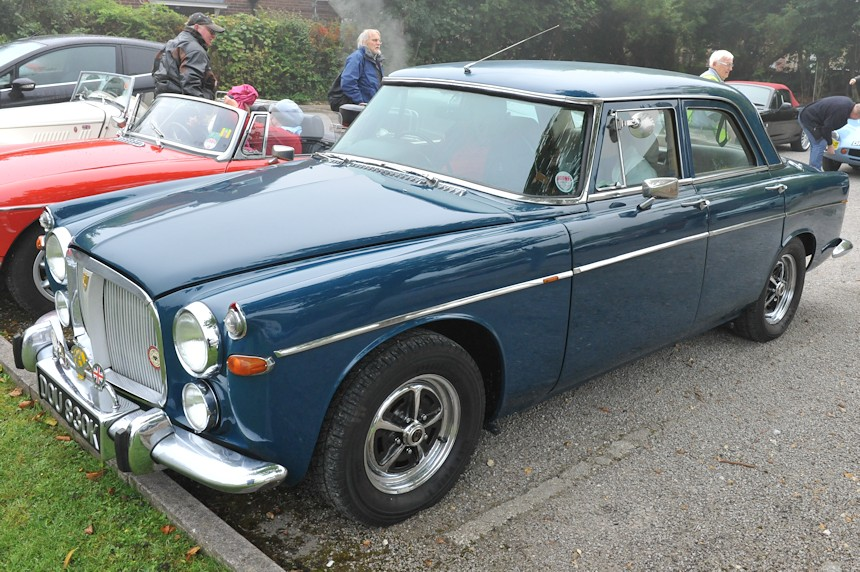 Photo of a Rover P5