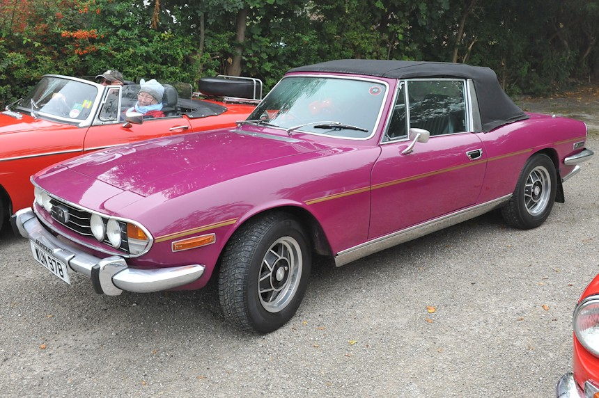 Photo of a Triumph Stag