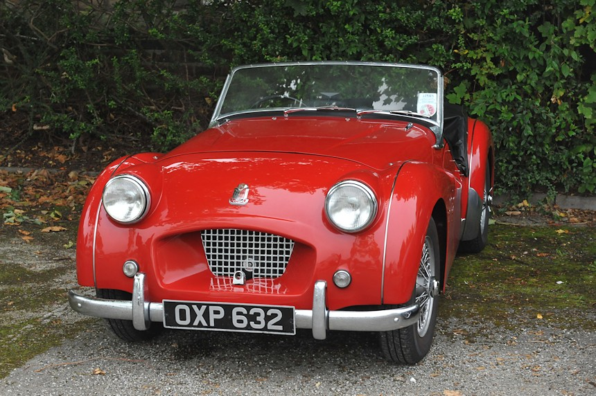 Photo of a Triumph TR2