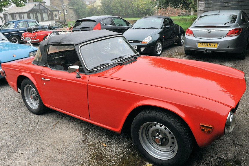 Photo of a Triumph TR6