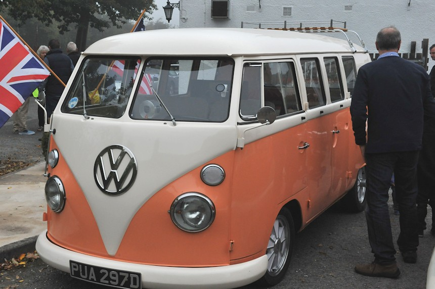 Photo of a VW Camper van