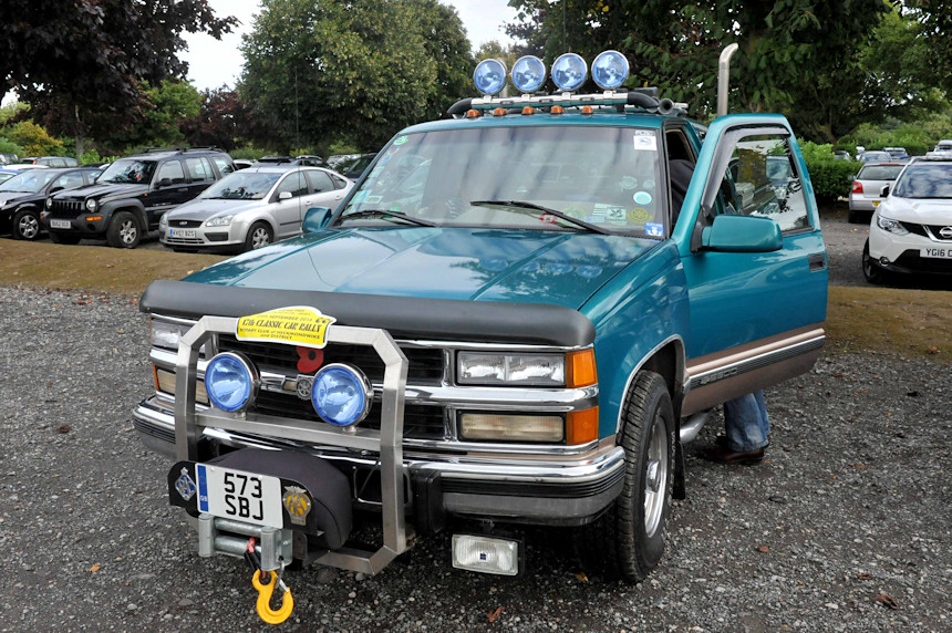Photo of a large pickup truck