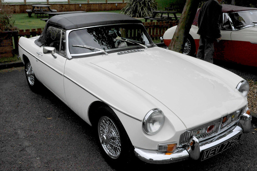 Photo of a MG B Roadster