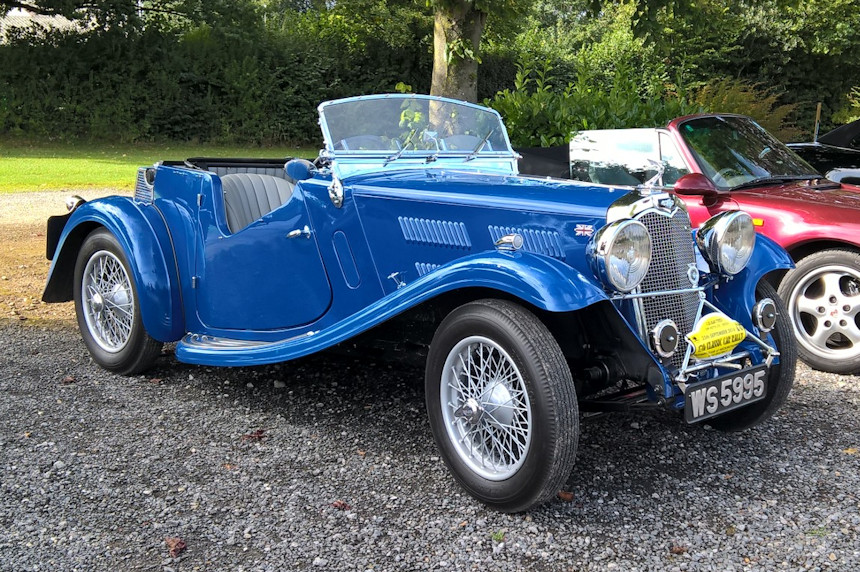 Photo of a 1935 Triumph Gloria