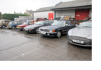 Image of classic cars at Theakeston's brewery