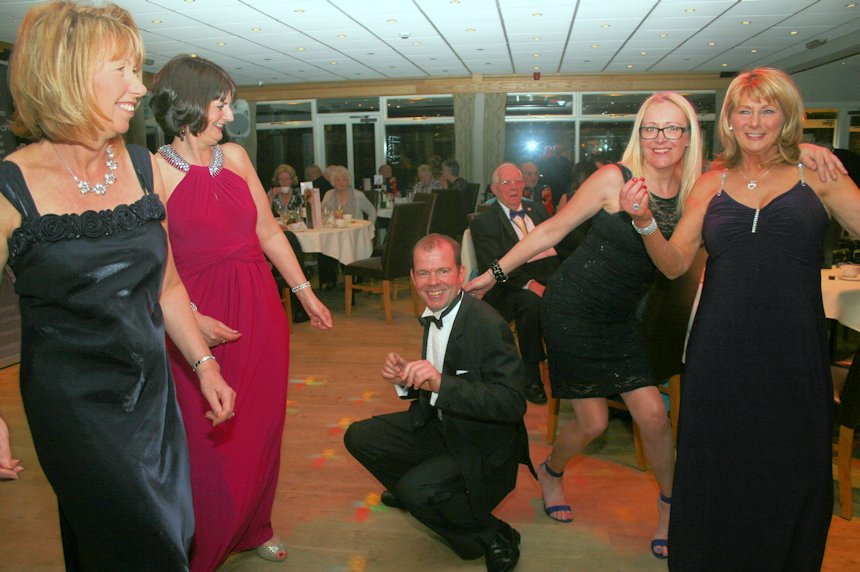 Photo of fun on the dancefloor
