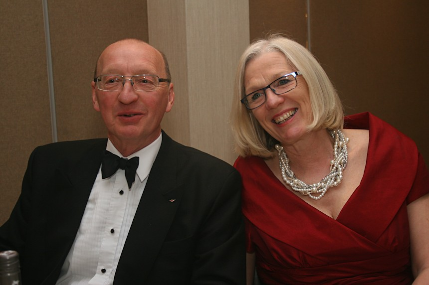 Photo of Peter and Anne Hirst