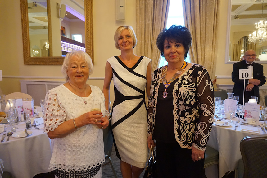 Photo of three ladies at Berties